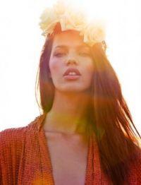 paolla rahmeier marie claire beautiful model in sun