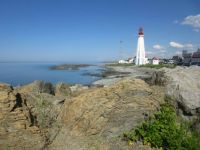 Lighthouse in Remouski, Quebec
