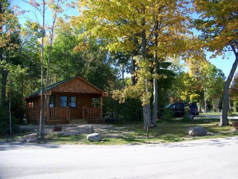 Mackinaw Mill Creek Campground Cabins, Michigan