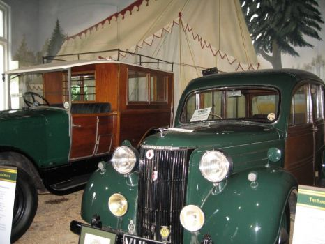 Cars from the Queen's collection, Sandringham
