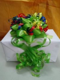 Gift Wrap....spontaneous creation