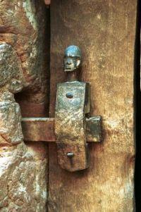 Dogon Door Lock, Mali