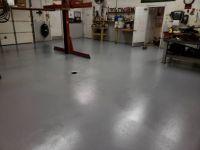 freshly painted workshop