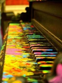 Music Makes Life Colorful...