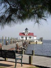 Roanoke Marshes Lighthouse, Roanoke, North Carolina, USA