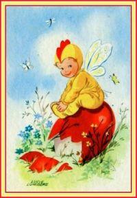 Easter Egg Fairy (smaller size)