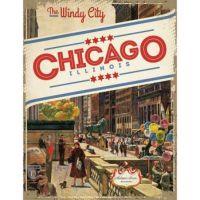 Michigan Avenue Chicago by John Falter