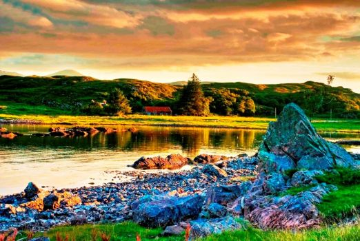 Isle-of-Skye-River - Scotland