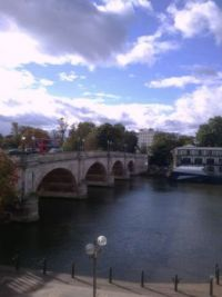 Kingston Bridge looking upstream....For SandiT and elf75