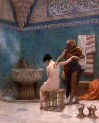 Jean-Leon Gerome  le bain Maure