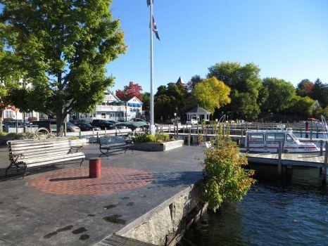 Wolfeboro, NH, on Lake Winnipesaukee.