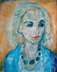 Portrait van Karin Leyden (1930) Jan Sluijters -