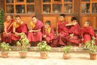 NEPALESE MONKS