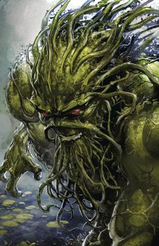 SWAMP THING--JUSTICE LEAGUE DARK