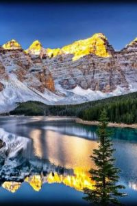 Lake Moraine ~ Banff National Park