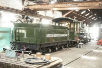 Brecon Mountain Railway 28-04-2019 workshop 15511 American Baldwin Locomotive 1897 01