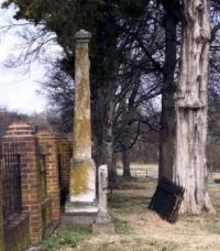 Monument of Maj. Gen. Daniel Smith Donelson, Army of the Confederacy Hendersonville, Tennessee