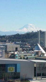 Tacoma with Mt Rainier