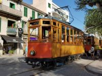 Tram Car, Puerto Soller, Majorca