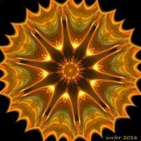 Sun glow 1