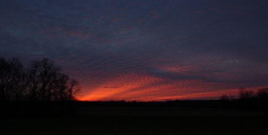 Sunset ~ January 24, 2013