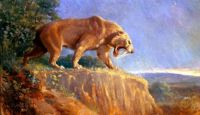 "THEME: ""Prehistoric Animals"" - Smilodon"