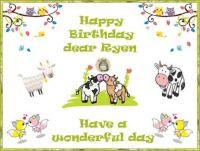 Happy Birthday Ryan (naturelovingfarmer)