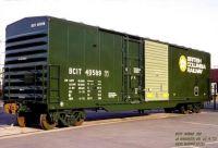 B C Rail boxcar