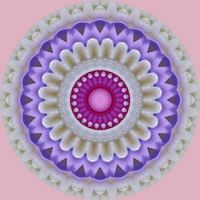 kaleidoscope 346 pastel mandala very large