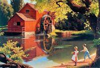 The Old Mill Stream (Paul Detlefsen)