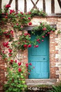 French Country Cottage Entrance
