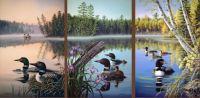 Seasons of the Lake-Loons by Jim Kasper