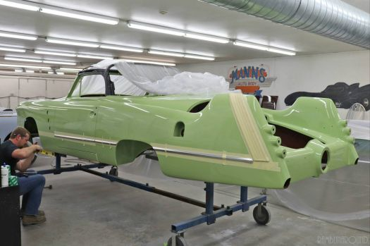 1952 Spohn Ford under restoration