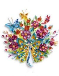 A Beautiful Bird Bouquet