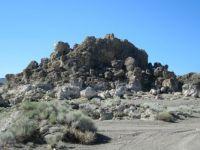 Pyramid Lake formations, Nevada