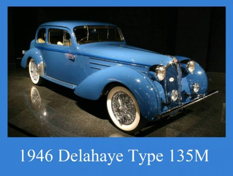 1946 Delahaye Type 135M Coach Coupe