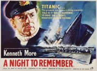 A NIGHT TO REMEMBER - 1958 POSTER KENNETH MORE - TITANIC