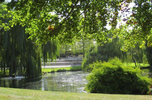 Lake at  Irish National Stud& Japanese Gardens