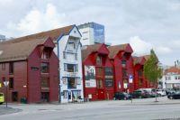 Wharf Houses of Stavanger Norway