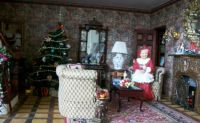 Livingroom of Christmas doll house