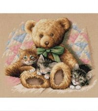 Dimensions' Teddy and Kittens