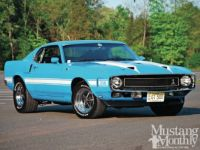 Blue 1969 Shelby