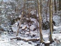 Boulder Pile, a la Snow