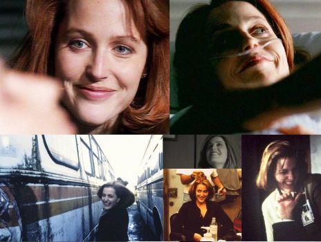 Yes, it's another Scully/X-Files collage