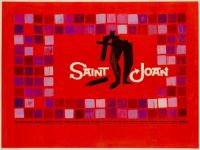 SAINT JOAN - 1957 UK MOVIE POSTER  JEAN SEBERG, RICHARD WIDMARK, RICHARD TODD