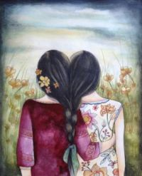two sisters by  claudia tremblay