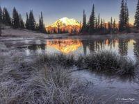 Lake Tipsoo wiht Mt Rainier by SkyRose Images