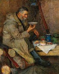 Aleksandr Gerasimov (Russian, 1881–1963), A Well-Deserved Break