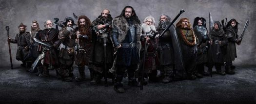 Thorin and dwarves - LOTR