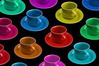 Fiestaware cups!